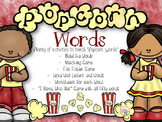 Popcorn Words Unit