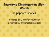 Popcorn Words for Kindergarten Journey's Reading Series