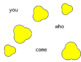 Sight Words Popcorn Words for SMARTBOARD