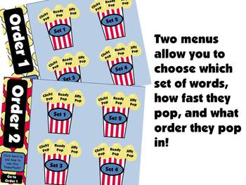 Popcorn Words that Really POP!