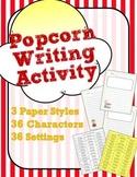 Popcorn Writing Activity