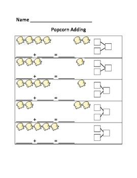 Popcorn adding