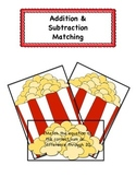 Popcorn addition&subtraction game