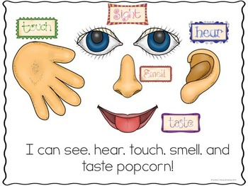 Popcorn, Native Americans, and My 5 Senses
