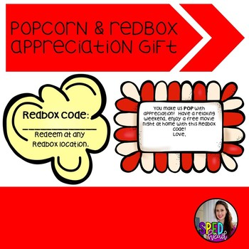 photograph about Redbox Teacher Appreciation Printable called Redbox Present Worksheets Coaching Elements Academics Spend