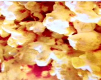 Popcorn f/v/words