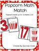 Popcorn math match-up