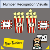 Number recognition Popcorn numbers 0-10