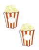 Popcorn themed Bulletin Board
