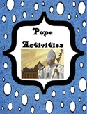Pope Activities for 2013