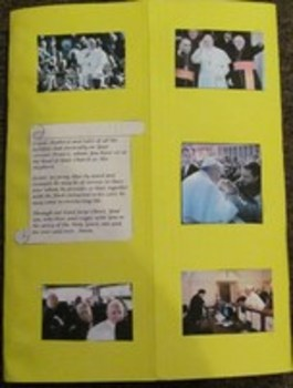 Pope Francis Catholic Lapbook