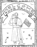 Pope Francis Coloring Sheet