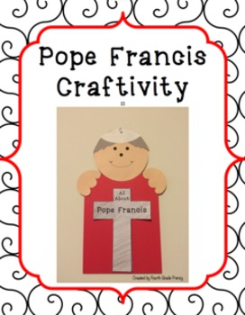 Pope Francis Craftivity