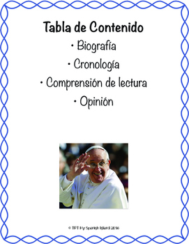 Pope Francis «Papa Francisco»