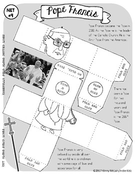 Pope Francis / Paper Craft Mini Project