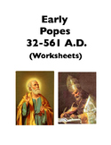 Popes: Early Popes (Worksheets)