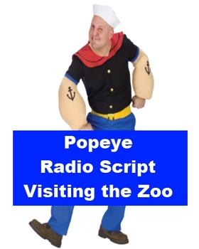 Popeye Radio Script - Visiting the Zoo