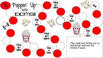 Poppin' Up (Body Idiom) Game