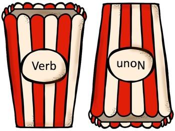 Popp'n Verbs and Nouns