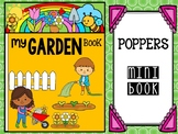 Poppers Mini Book : Gardens - Spring, My Garden Book