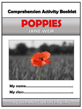 Poppies Comprehension Activities Booklet!
