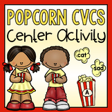 Poppin' CVC Words-A Short Vowel Center Activity