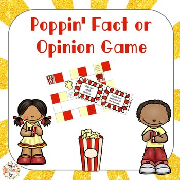 Poppin' Fact and Opinion Game