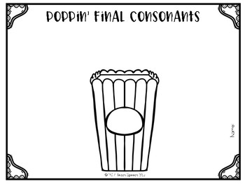 Poppin' Final Consonants [FREE]