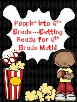 Poppin' Into 6th Grade Math