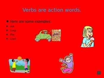 Poppin' Into Verbs