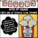 Poppin' Into the 3rd Grade! Goal Setting