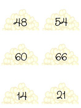 Poppin Multiplication Facts 6 & 7