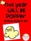 Poppin' New Year Bulletin Board