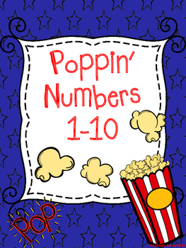 Poppin' Numbers 1-10
