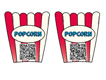 Poppin' Numbers QR Codes