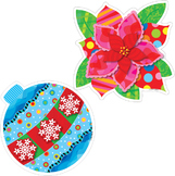 Poppin' Patterns Holiday Cheer - Winter Cut-Out Decor