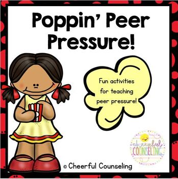 Peer Pressure Questionnaire Worksheet / Activity Sheet - young