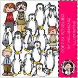 Poppin Penguins clip art - by Melonheadz