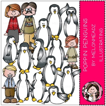 Poppin Penguins by Melonheadz COMBO PACK