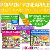 Poppin' Pineapple Classroom Decor Bundle {Tropical & Bright}