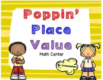 Poppin Place Value Math Center