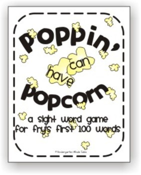 Poppin' Popcorn Words: A Sight Word Game of Fry's First 100 Words