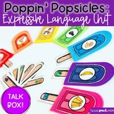 Poppin' Popsicles Talk Box: Expressive Language Unit