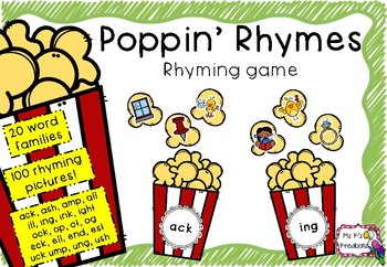 Poppin' Rhymes - A Rhyming Game