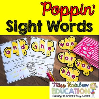 Poppin' Sight Words