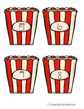 Poppin' Ten Frames Sort & Activity Worksheets
