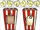 Poppin' Up CVC Words- A Popcorn Themed Literacy Center