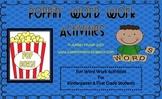 Poppin' Word Work Activities