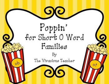 Short O Word Families