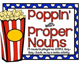 Poppin' with Proper Nouns
